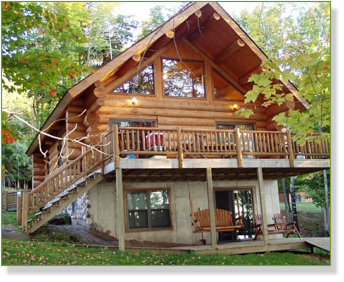 Jay's Resort's Beautiful Cabins on Thousand Island Lake