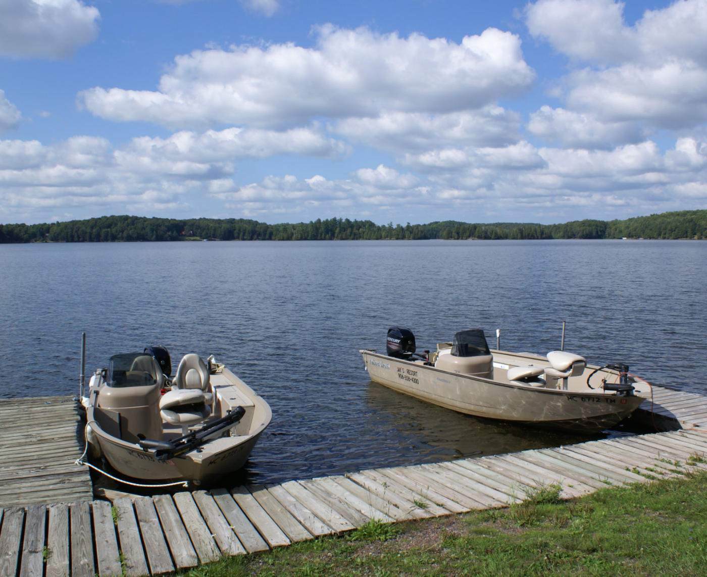 Recreation at Jay's Resort in Watersmeet MI Cisco Chain of Lakes